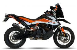 IXRACE M2 Black Silencer - KTM 790 Adventure / R 2019-20