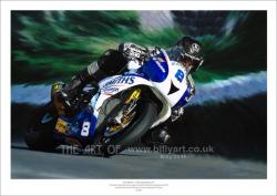 Motorcycle Memoribilia - Guy Martin Smiths Triumph 2015 Isle of Man TT