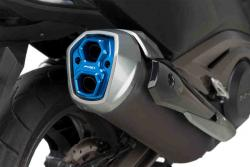 PUIG Exhaust Silencer End Plate  -  Kymco AK550 2017-19