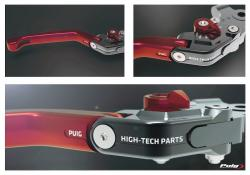 PUIG Racing Levers / Gen 3 -  Extendable in various colours