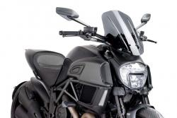 PUIG Naked New Generation Touring Screen Ducati Diavel 2014-17