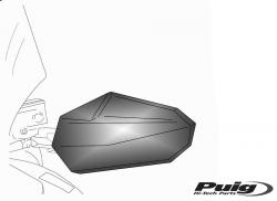 Puig Maxiscooter Hand Guards - Kawasaki J300 2014-19
