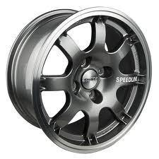 Speedline Wheel 434 6.75 x 15 ANTHRACITE