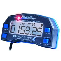 Starlane Stealth GPS4 Laptimer with USB Data Download