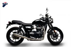 Termignoni 2:1 Full Stainless System - TRIUMPH STREET TWIN 2016-17