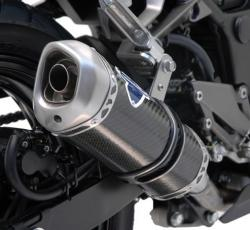 Termignoni Carbon Relevance Silencer KAWASAKI NINJA 300 2012-16