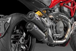 Termignoni Carbon Homologated Silencer Kit - DUCATI MONSTER 821 2015-17