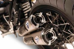 Termignoni Conical Dual Exhaust Silencers - BMW R NINE T  2014-19