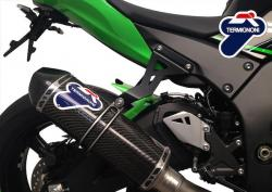 Termignoni 4:2:1 Full System with Relevance Carbon Sleeve Silencer Kawasaki ZX-10R 2011-17