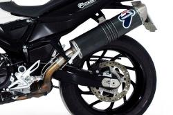 Termignoni Oval Carbon Silencer - BMW F800R 2009-16