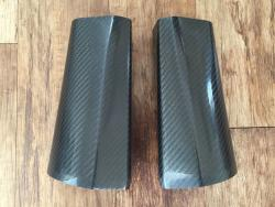 Termignoni - Panigale Tri-Oval Carbon Sleeves