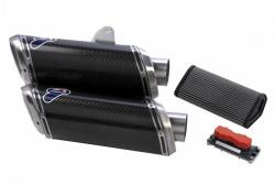 Termignoni Racing Carbon Silencer Kit Ducati Streetfighter S 2009 -11