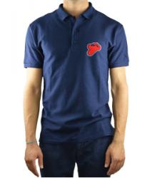 "Termignoni ""Reparto Corse"" Blue Polo Shirt"