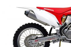 Termignoni Stainless slip on Cross Silencers Honda CRF450R 2015-16