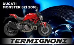Termignoni T800 UpMap + Cable - Ducati Monster 821 2018