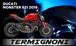 Termignoni T800 UpMap + Cable - Ducati Monster 821 2019-20