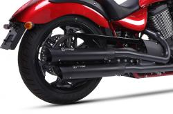 IRONHEAD HC1-2C Dual  Silencers - VICTORY CROSS COUNTRY 2010-16