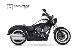 IRONHEAD HC1-2C Dual  Silencers - VICTORY HIGH-BALL 2016-17