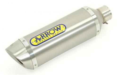 Arrow Decat + Road Titanium cans YAMAHA YZF-R1 2007-08
