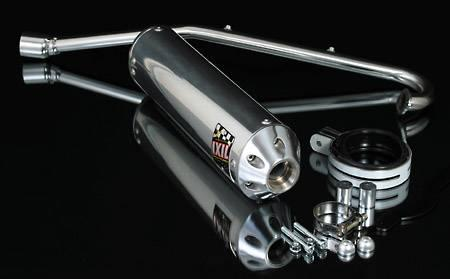 IXIL Full System Oval Inox Quad Silencer ALP BUGGIE 250