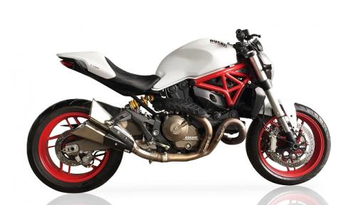 IXIL Dual Slashed Cone Xtrem Silencer - Ducati Monster 821 2015 - 17