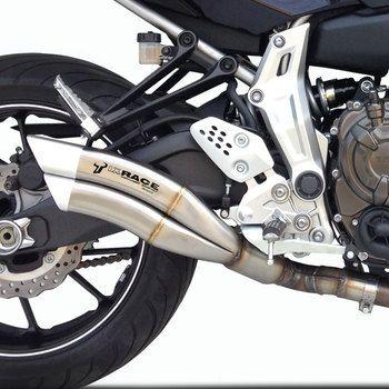 ixil ixrace z7 inox silencer full system yamaha mt 07. Black Bedroom Furniture Sets. Home Design Ideas