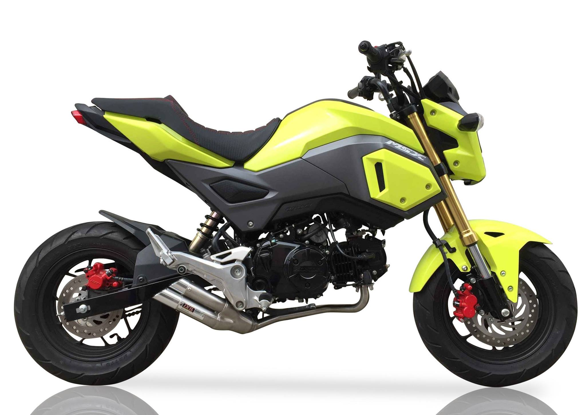 ixil hyperlow full system honda msx125 grom. Black Bedroom Furniture Sets. Home Design Ideas