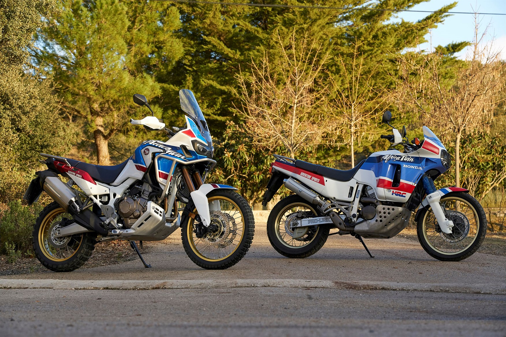 The existing Africa Twin with the original
