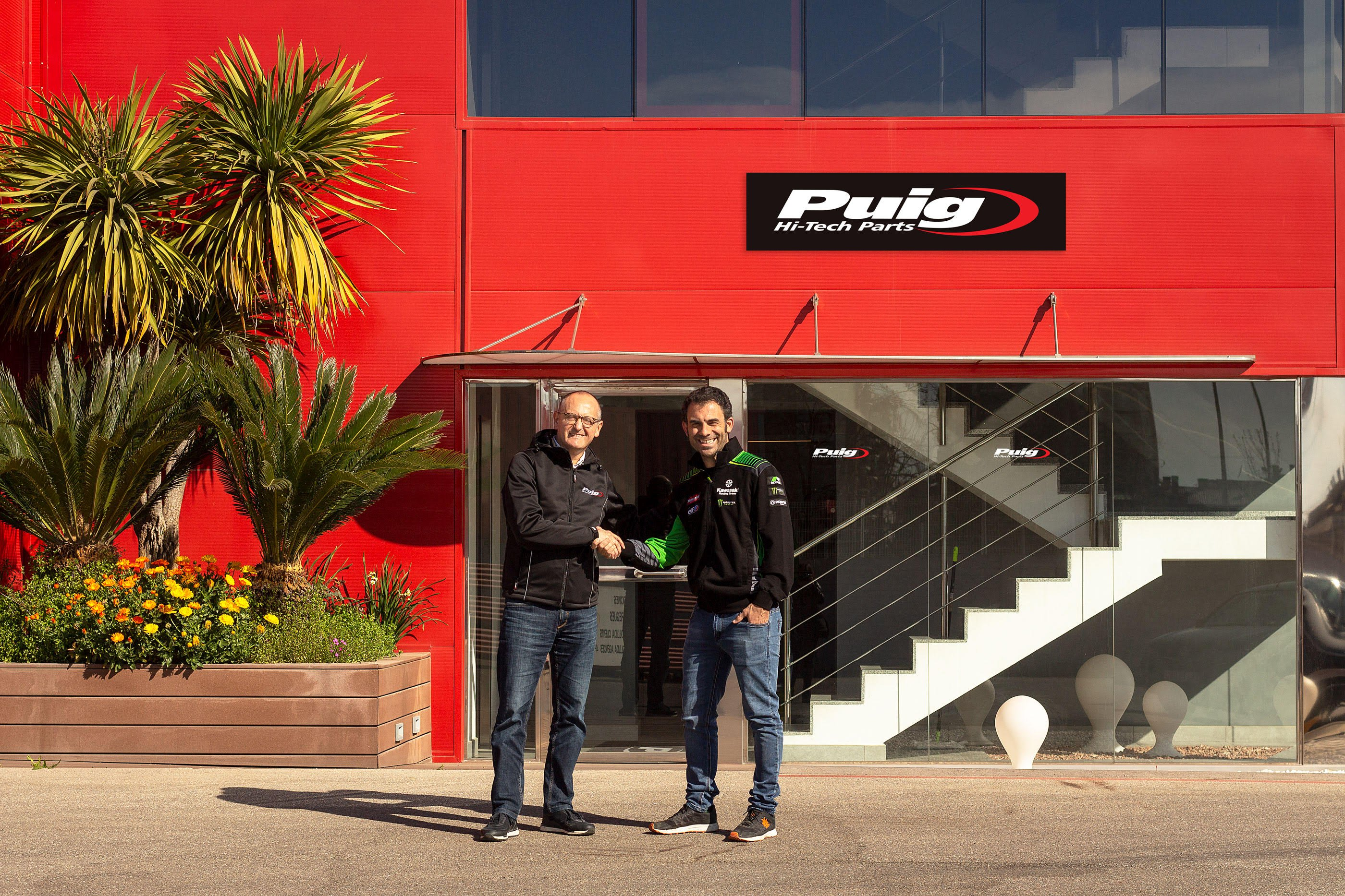 Puig and Kawasaki Racing Team renew their technical collaboration