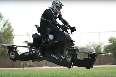 Watch: Police in Dubai begin hoverbike Training