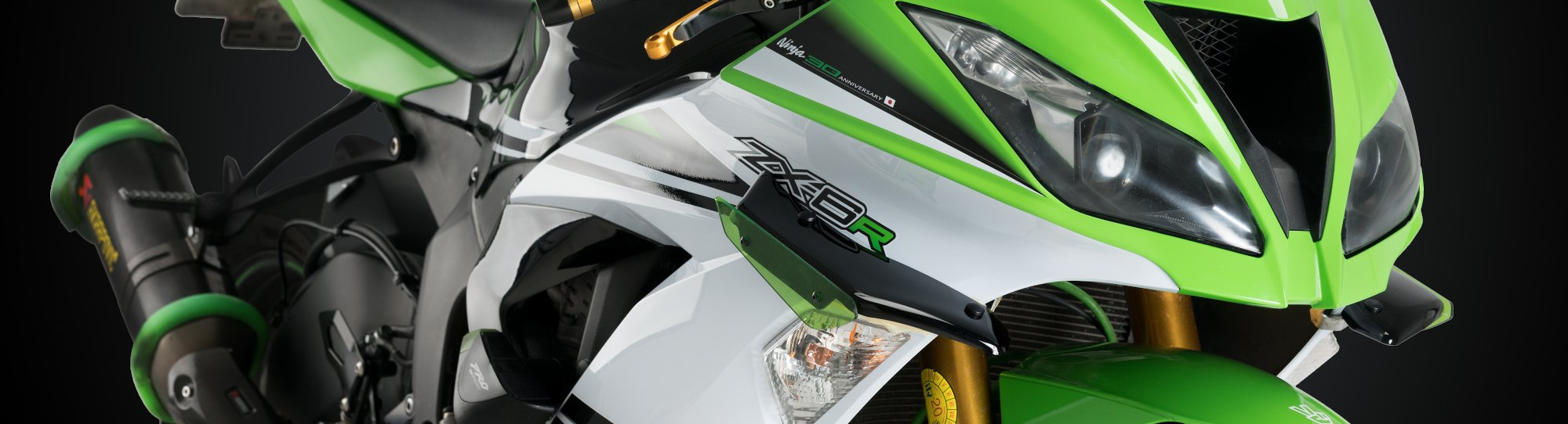 Puig Downforce Spoilers Kawasaki