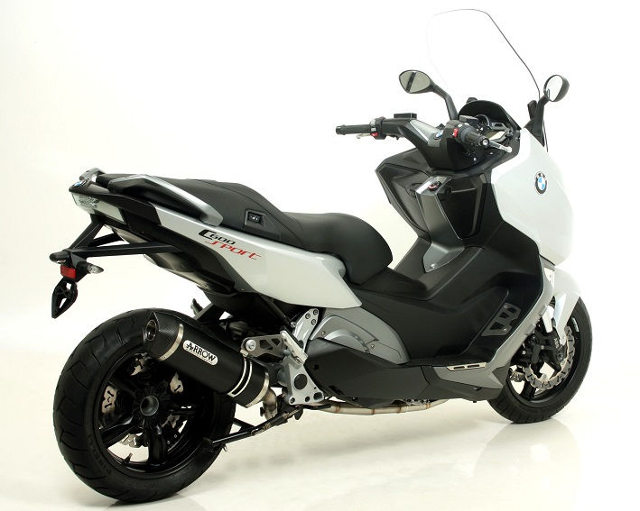 arrow darkline carbon race tech silencer bmw c600 sport. Black Bedroom Furniture Sets. Home Design Ideas