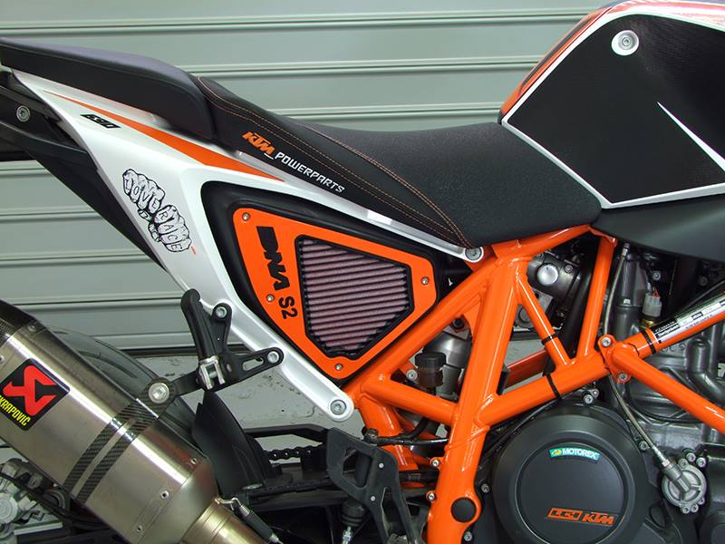 DNA High Performance Stage 2 Air Box Filter Cover KTM 690 ...