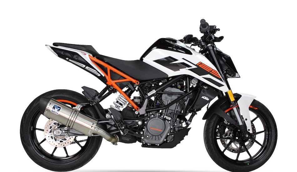 ixil hexoval xtrem inox silencer ktm duke 390. Black Bedroom Furniture Sets. Home Design Ideas