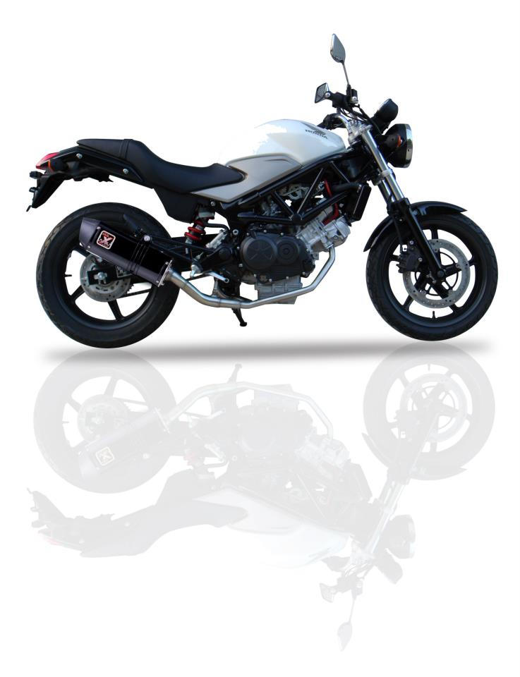 ixil hexoval xtrem black silencer daelim roadsport 125 r 2007 15. Black Bedroom Furniture Sets. Home Design Ideas