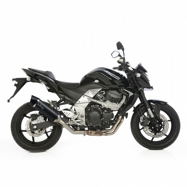leovince lv one evo carbon silencer kawasaki z750 2007 14. Black Bedroom Furniture Sets. Home Design Ideas