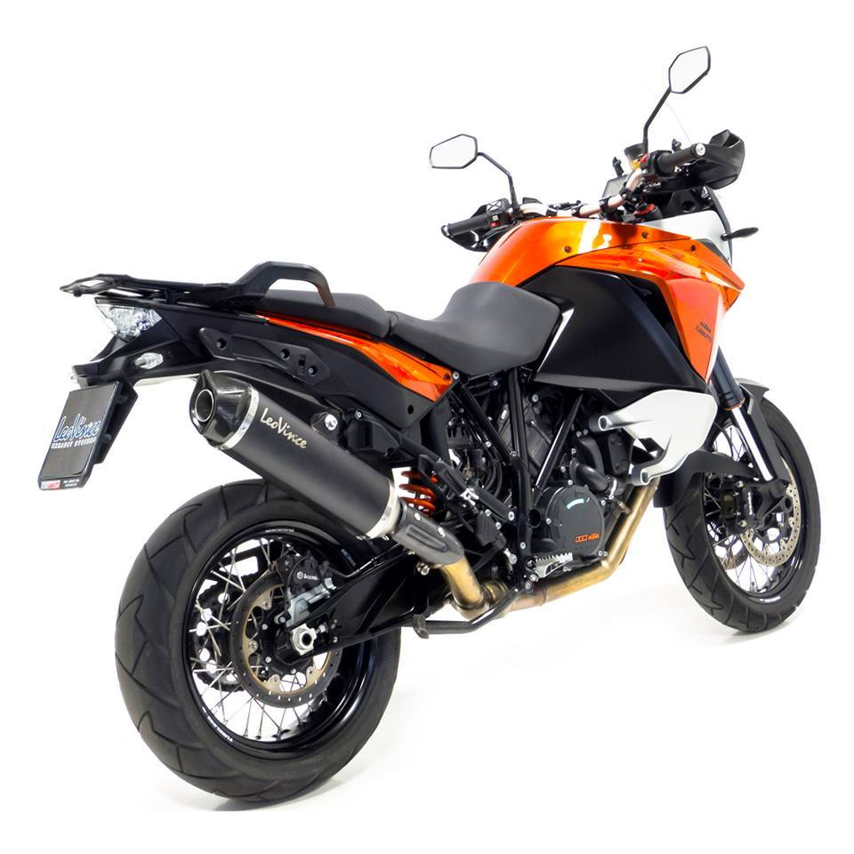 leo vince nero evo ii silencer ktm 1190 adventure r 2013 16. Black Bedroom Furniture Sets. Home Design Ideas