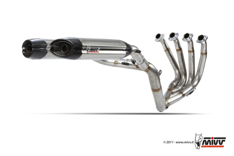 Yamaha full mivv exhaust systems for Yamaha exhaust systems
